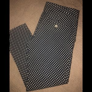 Euc ✨Tory Burch ✨Owen  polka dot cropped pants